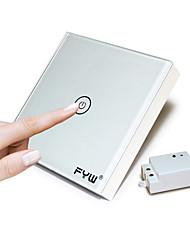 Fyw una pandilla toque controlador remoto interruptor no hay necesidad de cortar el cableado de la pared se puede pegar en cualquier
