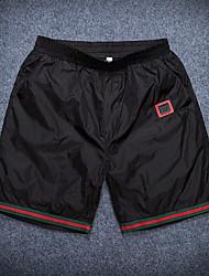 Sportif Couleur Pleine Boxers-Polyester