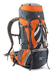 75 L Rucksack Multifunktions Schwarz Blau Orange