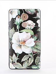 Pour Motif Coque Coque Arrière Coque Fleur Flexible PUT pour Huawei Huawei Mate 9 Huawei Mate 8
