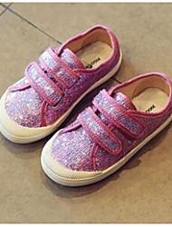 Girls' Sneakers Comfort PU Casual Flat Heel