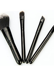 4.0 Cepillo para Polvos Cepillo para Base Sistemas de cepillo Cepillo para Colorete Pincel para Sombra de Ojos Pincel para Labios Pelo