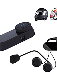 FreedConn T-COM02 Motorcycle Helmet Headsets Intercom Interphone Waterproof Stereo Headphone BT Wireless Bluetooth Free Headphone