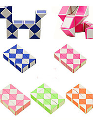 Smooth Speed Cube Stress Relievers Educational Toy Smooth Sticker / Anti-pop Random Color