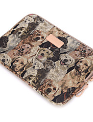 for Touch Bar Macbook Pro 13.3/15.4 Macbook Air 11.6/13.3 Macbook Pro 13.3/15.4 Cute Dog Pattern Design Shockproof Laptop Sleeve Bag