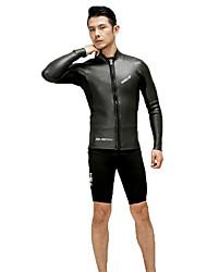 HISEA® Unisex Neopren bunda Voděodolný Zahřívací Nositelný Odolné vůči šokům Hladký Diving Suit Dlouhé rukávy Potápěčské obleky-Potápění