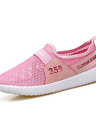 Women's Sneakers Spring Summer Comfort Couple Shoes Tulle Outdoor Athletic Casual Flat Heel Running