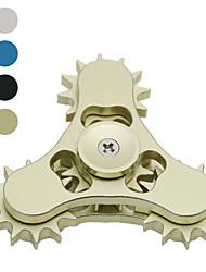 Edc tipo 4 nove dente contato dedo ponta giroscópio dedo infinito giro mão spi ---- 1 pcs cor aleatória