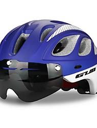 Спорт Универсальные Велоспорт шлем 20 Вентиляционные клапаны Велоспорт Велосипедный спорт Поликарбонат ПенополистиролКрасный Серый Чёрный