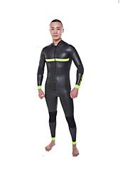 Homme 3mm Combinaisons étanches Respirable Séchage rapide Design Anatomique Néoprène Tenue de plongée Manches longues Combinaisons-Plongée