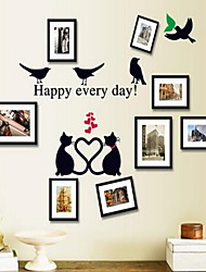 Cartoon Wall Stickers Plane Wall Stickers Photo Stickers,Vinyl Material Home Decoration Wall Decal