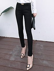 Sign 2016 Spring Fashion Women Slim thin lady long pants feet pants female trousers