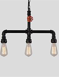 60 Lámparas Colgantes ,  Rústico/Campestre Cosecha Retro Pintura Característica for Mini Estilo Metal Comedor Cocina Vestíbulo Hall Garaje