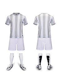 Kid's Soccer Clothing Suits Breathable Sweat-wicking Comfortable Spring Summer Winter Fall/Autumn Stripe PolyesterBasketball