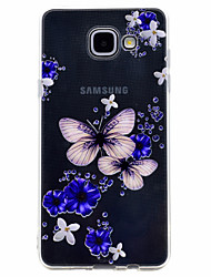 For Samsung Galaxy A3(2017) A5(2017) Butterfly Pattern Soft TPU Material Phone Case for A7(2017) A510 A310