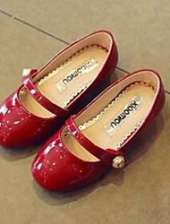 Girls' Flats Comfort Patent Leather Casual Flat Heel