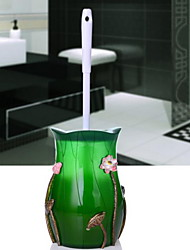 Lotus Leaf Toilet Brush Holder Resin /Country