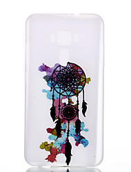 For Asus Zenfone 3 ZE520KL ZE552KL Wind Chimes Pattern Relief Luminous TPU Material Phone Case