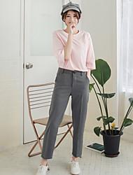 17 años signo primavera modelos pantyhose jeans rectos pantalones casual pantalones salvaje