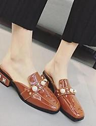 Women's Clogs & Mules Comfort Microfibre Casual Flat Heel Low Heel