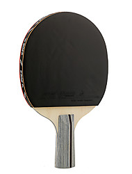 1 Star Table Tennis Rackets Ping Pang Cork Long Handle Pimples 1 Racket 1 Table Tennis Bag Outdoor Performance Practise Leisure Sports