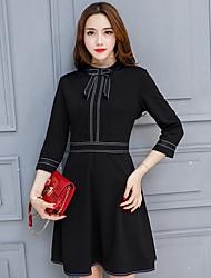 grand prix europeen 2016 nouvelles femmes&# 39; automne et l'hiver est la mode tempérament mince dames robe de produits creux de la