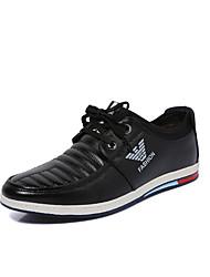 Men's Loafers & Slip-Ons Spring Summer Fall Winter Comfort Light Soles Microfibre Outdoor Office & Career Casual Flat HeelApplique Ribbon