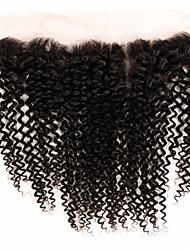 Um Pacote de Solução Cabelo Brasileiro Kinky Curly 12 meses 5 Peças tece cabelo