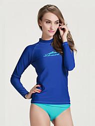 SBART Dámské Neopren top Potápěčské Skins Ochrana proti vyrážce Rychleschnoucí Anatomický design Prodyšné Proti sluci neoprén Diving Suit
