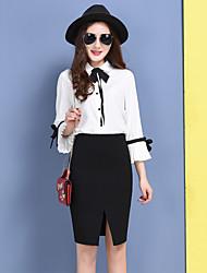 Знак сплит передняя юбка карьера пакет хип юбка талия корейская версия женщин&С тонкой работой юбки женщины