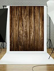 5x7ft madera pared suelo fotografía fondo estudio adornos azul tabla tema nuevo