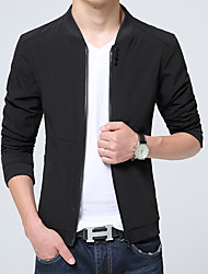 -P50 Collar button zipper pocket jacket M 57% nylon, 43% polyester Alcamo
