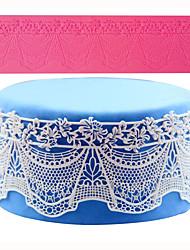 выпечке Mold Кружева Для торта силиконовый Высокое качество Антипригарное покрытие Экологичность Сделай-сам 3D