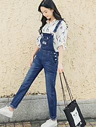 Signo instituto viento primavera y otoño versión coreana fue agujero delgado pantalones jeans pantalones femenino pantyhose estudiante