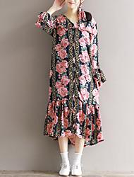 Grand lit littéraire large asuncion femme douce robe en mousseline de soie florale robe à bas prix printemps