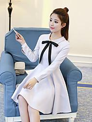 Signe 2017 hepburn vent frappe couleur arc légèrement texturée taille petite robe noire