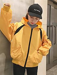 Zeichen-Shop, Kapuzen-Kurzmantel weiblichen Baseball Uniform Jacke weiblichen Studenten