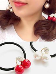 Elásticos & Ties Accesorios para el cabello Brillantes Accesorios pelucas Para mujeres