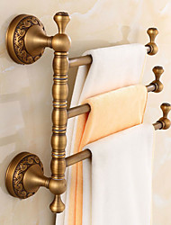 Shower Rods Neoclassical Brass