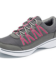 Unisex Athletic Shoes Spring Summer Comfort Couple Shoes Stretch Satin Outdoor Athletic Casual Flat Heel Lace-up Hiking