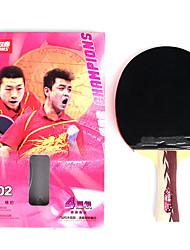 4 Звезд Ping Pang/Настольный теннис Ракетки Ping Pang дерево Длинная рукоятка Прыщи