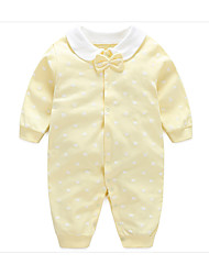 Baby Polka Dot One-Pieces,Cotton Summer