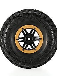 Geral RC Tires Pneu RC Carros / Buggy / Caminhões Vermelho Branco Azul Amarelo Borracha pet Plástico 4PCS