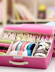 Storage Boxes Storage Units Non-woven withFeature is Lidded , For Underwear Cloth