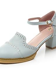 Sandálias das mulheres primavera verão queda clube sapatos gladiador conforto novidade luz solas couro ao ar livre escritório&Vestido
