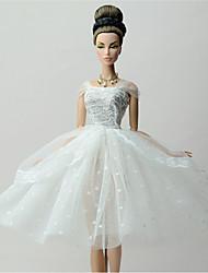 Fête / Soirée Robes Pour Poupée Barbie Lace Robes Pour Fille de Jouets DIY