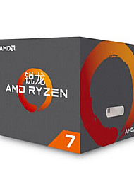 amd ryzen 7 1700 processore con spettro spire led cooler