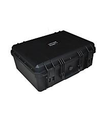 42 L Waterproof Dust Proof Wearable Hardshell Multifunctional Shockproof Black