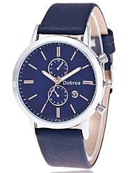 Men's Fashion And Fashion Quartz Belt Watch