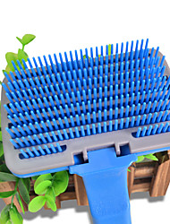 Dog Cleaning Comb Portable Blue